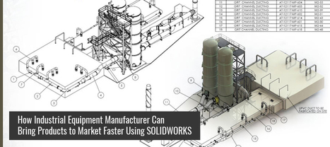 How Industrial Equipment Manufacturer Can Bring Products to Market Faster Using SOLIDWORKS  | Hi-Tech Outsourcing Services | Scoop.it