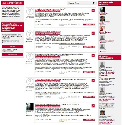 PRLaxis:  Red social dedicada a la prevención de riesgos laborales. | PRL, DIRECCIÓN y GESTIÓN | Scoop.it