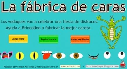 La fábrica de caras | Español para los más pequeños | Scoop.it