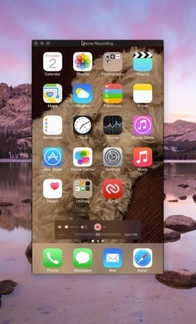 Recording Your iOS 8 Device with QuickTime Player | Mobile Technology | Scoop.it