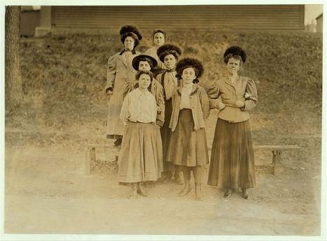 Photographies: Travailler dans les usines de la Nouvelle-Angleterre (Burlington, Vermont, début XXe siècle) | Patrimoine, Histoire et multimédia | GenealoNet | Scoop.it