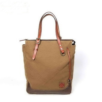 Utility daily canvas laptop tote bags with leather handles from Vintage rugged canvas bags | Womens fashion | Scoop.it