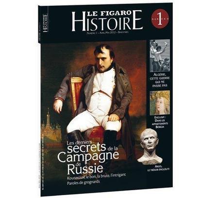Le N°1 de Figaro Histoire dans les kiosques | Revue de Web par ClC | Scoop.it