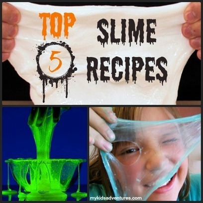 How to Make Slime, 5 Easy Recipes for Halloween Fun | My Kids' Adventures | Leadership | Scoop.it