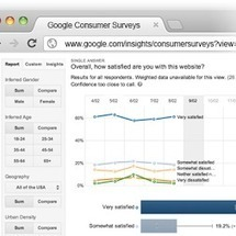 Google Consumer Surveys - Google+ - Website satisfaction by Google Consumer Surveys -- for free… | How to Grow Your Business Online | Scoop.it