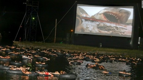 Dents de la Mer 2015 : une projection plein air sur un lac... - | Design insolite | Scoop.it