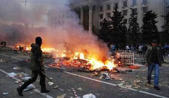 Ukrainian Right-Wing Goons Are Flooding Odessa Ahead of Massacre Anniversary | Global politics | Scoop.it