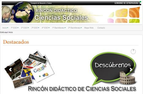Rincón didáctico de Ciencias Sociales | History 2[+or less 3].0 | Scoop.it