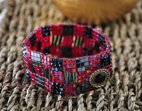 Beads & Beyond Magazine - Projects - Braveheart bracelet | Basic Jewellery making Techniques | Scoop.it