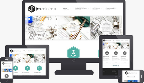 JM Minima Joomla J3.x Template for Presentation of Products & Services | 123 | Scoop.it