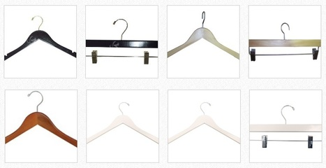 Canada's Beautifully Designed Wood Hangers | Rollingracks.ca – Shop for wholesale and retail rolling racks, collapsible clothing racks, bags, steamer, hangers & much more in Canada, Toronto and around. | Scoop.it