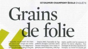 Télérama, un dossier spécial sur le Saumur Champigny : adieu Chimie... | Vins de Loire | Scoop.it