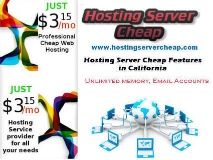 Hosting Server Cheap Features in California | Hosting Servers Service | Scoop.it