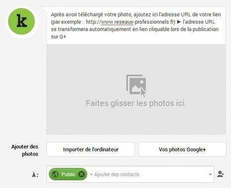 GooglePlus : 5 astuces toutes simples pour augmenter l'efficacité de vos liens | Social Media | Scoop.it