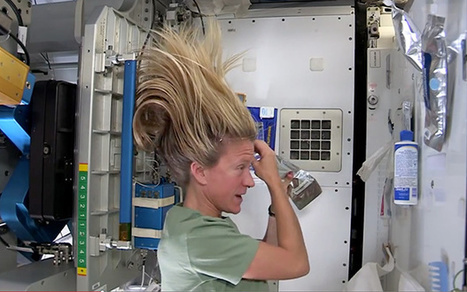 Washing Your Hair in Space | Morning Show prep | Scoop.it