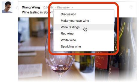 Ya podemos alterar las categorías de las publicaciones en las Comunidades de Google+ | Weblearner | Scoop.it