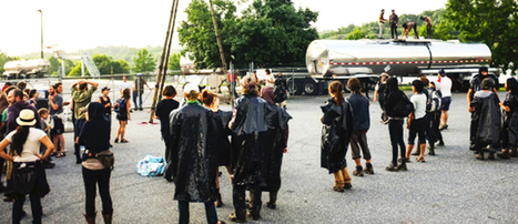 Fossil Fuel Chemical Supplier Shut Down By Fracking Protesters | EcoWatch | Scoop.it