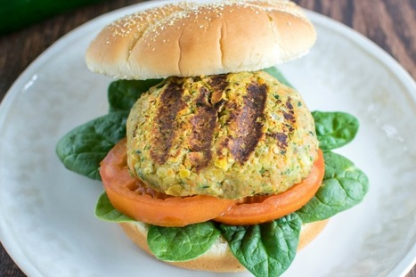 Zucchini Chickpea Burger [Vegan, Gluten-Free] | My Vegan recipes | Scoop.it