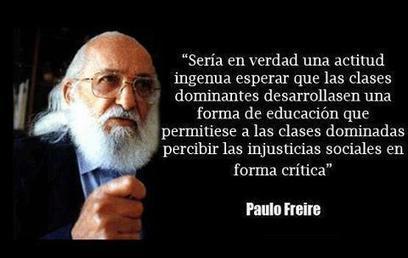 Paulo Freire y su relación con la pedagogía libertaria - Portal Libertario OACA   Experiencias educativas en las aulas del siglo XXI   Scoop.it