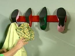 Transform women's heels into a coat rack | Upcycled Garden Style | Scoop.it