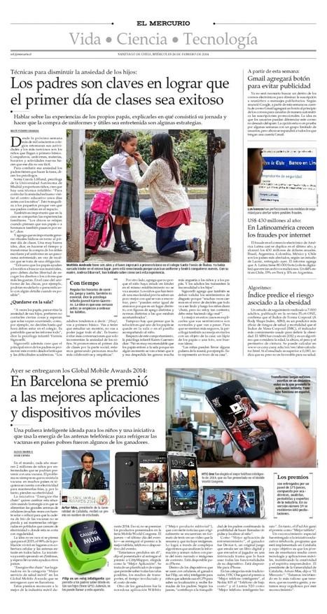 El Mercurio Mobile | LACNIC news selection | Scoop.it