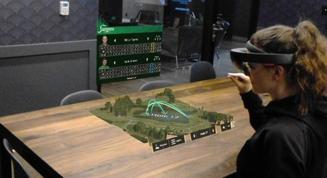 Taqtile's PGA Golf Tour HoloLens Demo - VRScout | Numeric Sapiens | Scoop.it