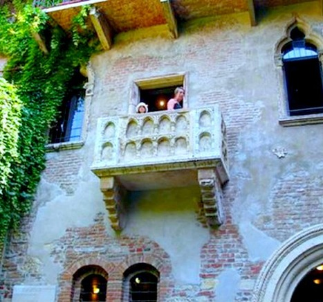 Romeo & Juliet And The Balcony of Love, Italy | Romeo and Juliet, William Shakespeare | Scoop.it