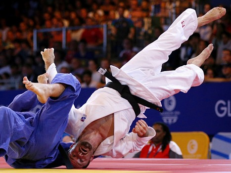 Sport picture of the day: a judo heads up | 2.8|Sport Photography | Scoop.it