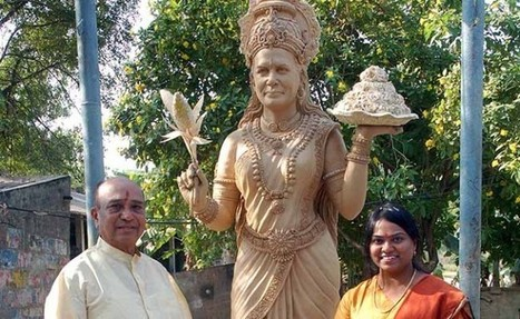 Temple to Goddess Sonia, as Saviour of Telangana | Current News Of India: India's top portal for news,movies news, bollywood news, videos news,politics news,cricket news, Sports  news,celebrity pictures, business news. | Scoop.it