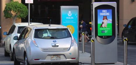 Des bornes de recharge pour les voitures électriques financées par la publicité | Curiosités planétaires | Scoop.it