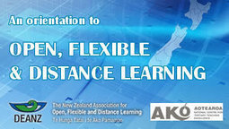 An orientation to open, flexible and distance learning | E-Learning and Online Teaching | Scoop.it