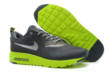 Cheap Nike Air Max Thea Mens Black Green Silver for Sale | Nike Basketball Shoes New Release | Scoop.it
