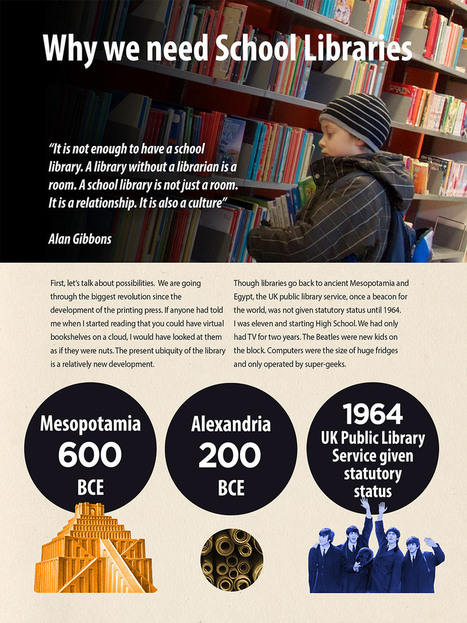 Dawn of the Unread - Issue 11 Extra - Why we need school libraries - Alan Gibbons | Bleeding EdgeSchool Libraries | Scoop.it