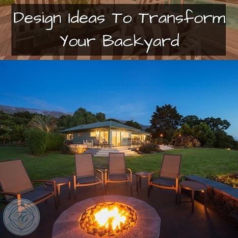 Design Ideas To Transform Your Backyard - Flemington Granite | Home Improvement, Modular Construction, Modular Buildings, Prefabricated Building | Scoop.it