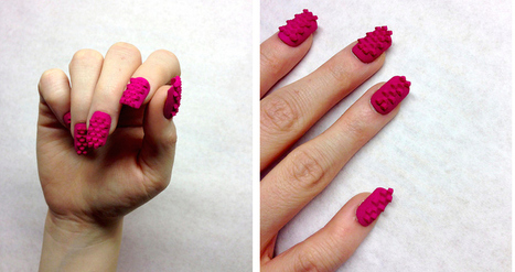 3D Printed Nail Art Will Take Your Manicure To The Next Level | Matmi Staff finds... | Scoop.it