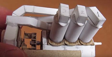 Fogonazos: Un motor como los de Patelo, pero en papel [VÍDEO] | TECNOLOGÍA_aal66 | Scoop.it