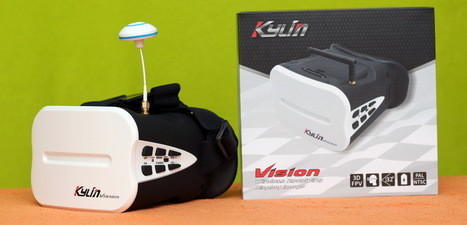 KDS Kylin FPV Goggles for the mass | Quadcopter Flyers | Quadcopter Flyers | Scoop.it