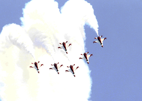 Black Knights showcase new moves for S'pore Airshow 2014 - TODAYonline   Aerospace events   Scoop.it