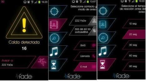 Una «app» que alerta a un contacto de si te caes al suelo | Tecnología | Scoop.it