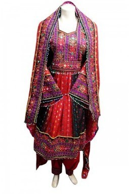 Afghan Dress With Mirrors Work Fancy Bridal Clothing Costume Outfits Robe | Buy Belly Dance Jewelry Tribal Fusion Bellywood | Scoop.it