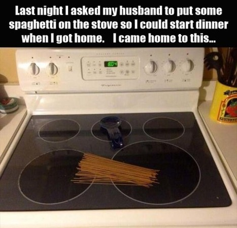 Who Says Husbands Aren't Useful? | Strange days indeed... | Scoop.it