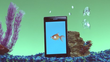 Sony -- Underwater Apps -- Goldie - YouTube | Interesting Apps | Scoop.it
