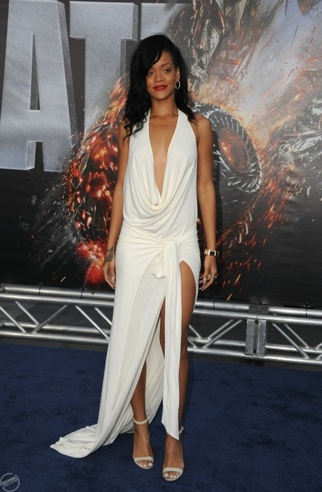 Rihanna confirms New Fashion Line : Photos 'Battleship' LA premiere | FreddyO.com | I don't do fashion, I am fashion | Scoop.it