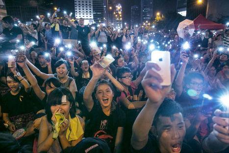 Social Media and the Hong Kong Protests - The New Yorker | Social Media, Social Might | Scoop.it