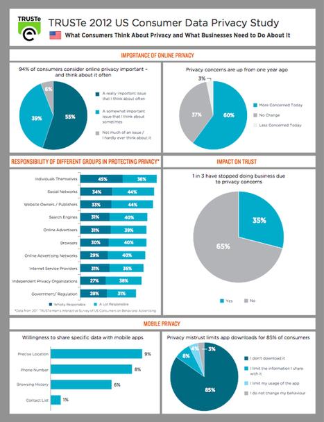 [Infographic] Survey: Consumers Are Concerned About Privacy, Tracking, Advertising   Social on the GO!!!   Scoop.it