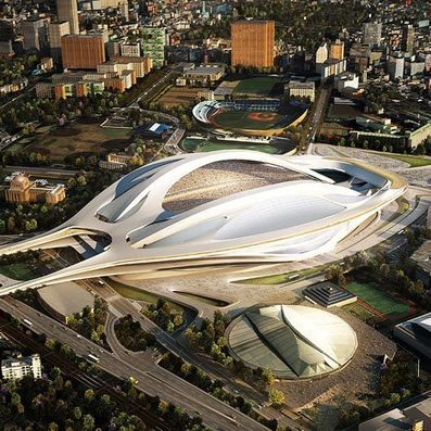 Zaha Hadid's Tokyo Olympic stadium to be scaled back | Urbanitudes | Scoop.it
