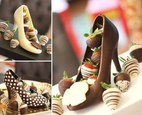 Chocolate High Heel Shoe Milk | Illustration - animation - déco - peinture et sculpture | Scoop.it