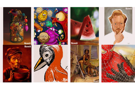 iPad Art Apps – Sample Work | Alive and Learning | Scoop.it