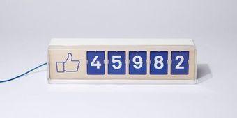 Fliike, le compteur de fans Facebook à poser en vitrine - L'Express   Misc Techno   Scoop.it