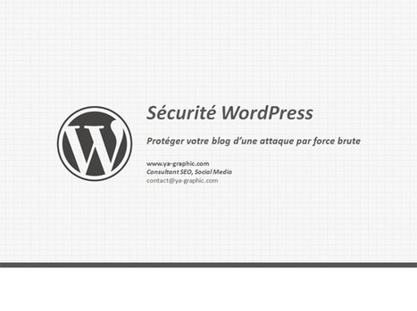Sécurité WordPress: Se protéger d'une attaque par force brute | WordPress Maroc | Scoop.it